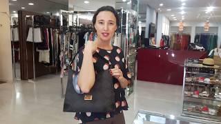 Vídeo Bolsa Jacquard Smartbag Cor Preto