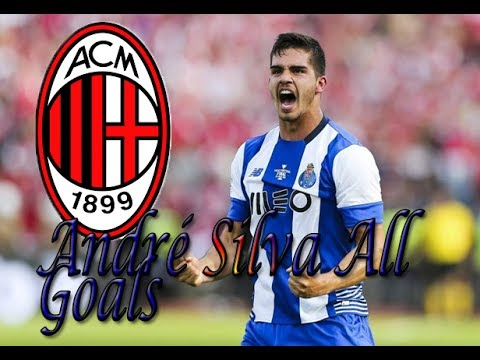 André Silva Welcome To Milan! All Goals 16/17