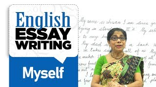 Myself essay in English | English Lessons for Beginners | English Composition Writing
