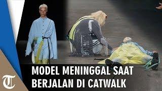 Video Detik-detik Model Jatuh lalu Meninggal saat Berjalan di Atas Catwalk