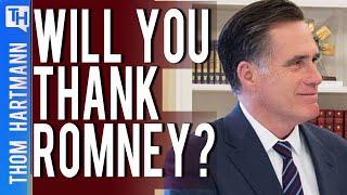 Does Mitt Romney Deserve Our Thanks?