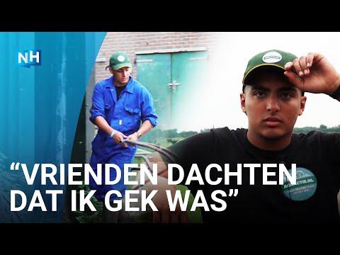22-jarige Ayoub uit Amsterdam is boer