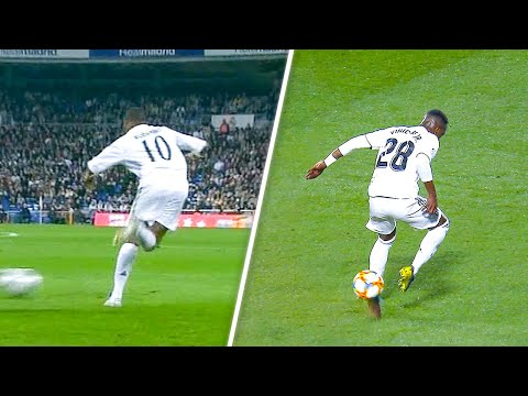 Vinicius Jr vs Robinho SAMBA style