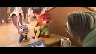 Zootopia full sloth scene