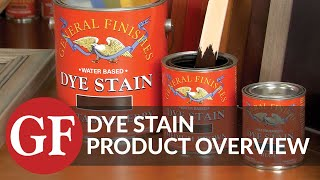 Layering & Toning With Colors | Water Based Dye Stain | Product Overview | General Finishes