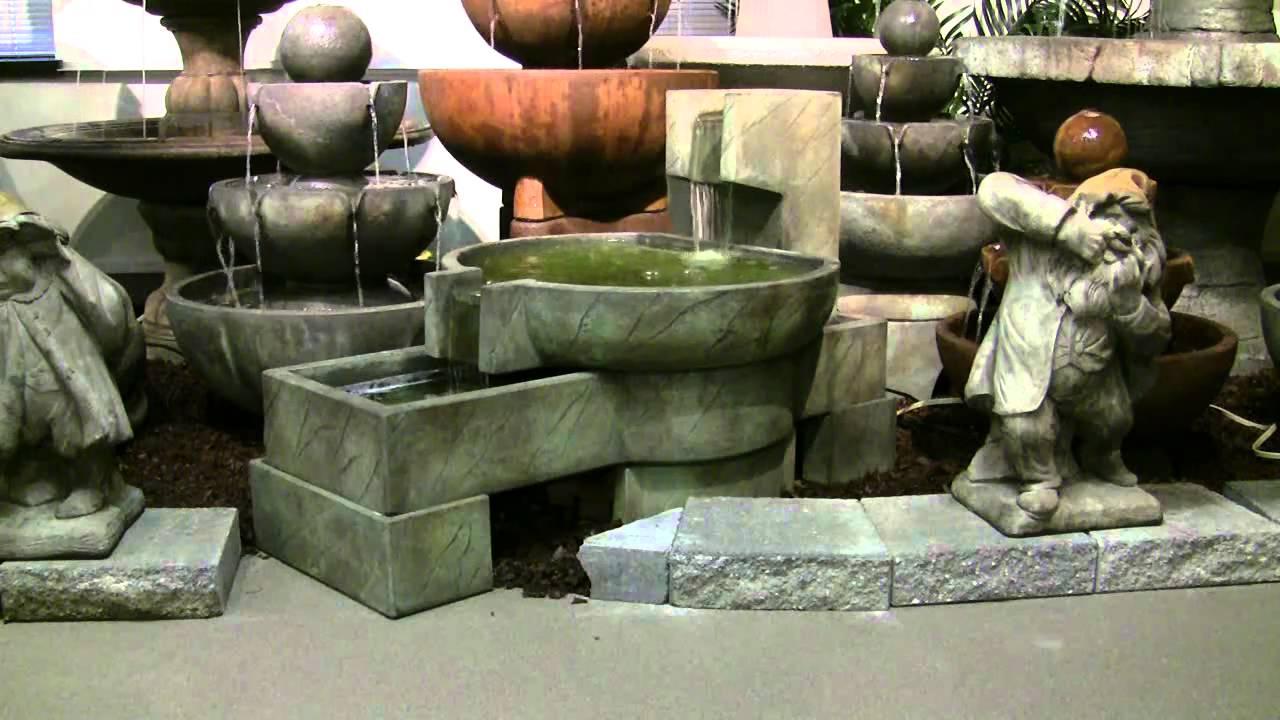 """Neostone 31 1/2"""" High Cascade Pool Garden Fountain"""