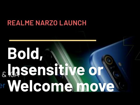 Realme Narzo Postponed for 2nd Time: Wast it Welcome or insensitive move?