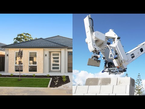 This House Was Built By a Robot - Fascinating!