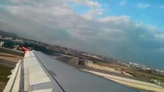 preview picture of video 'Air Berlin - Flight from Alicante to Palma de Mallorca'