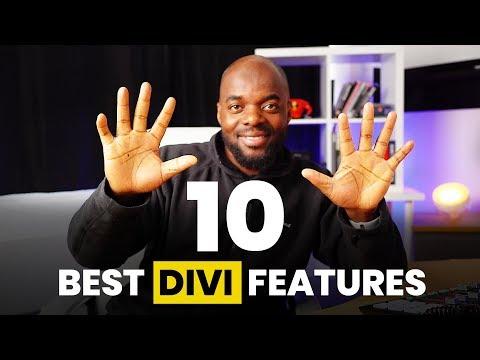 Divi Features - My 10 Best Divi Features