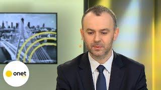 Mucha o proteście przed TVP: przybiera formy niedopuszczalne | Onet Opinie