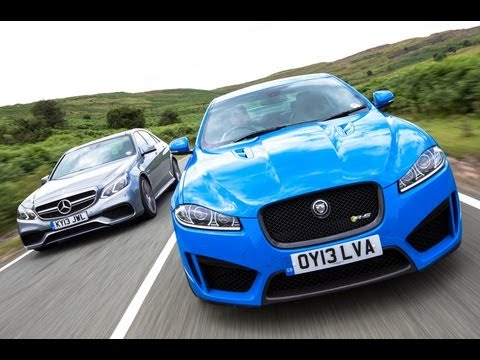 Supersaloon showdown: Jaguar XFR-S vs Mercedes E63 AMG