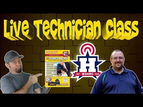 Ham Radio Technician Class License Course and Test Prep, Part 1