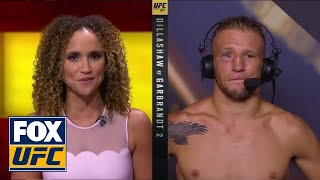 TJ Dillashaw talks to the UFC on FOX crew | INTERVIEW | UFC 227