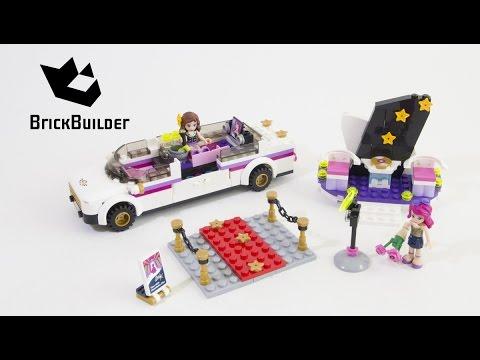 Vidéo LEGO Friends 41107 : La limousine de la chanteuse