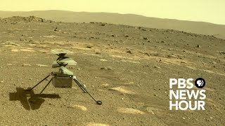 WATCH LIVE: NASA attempts first helicopter flight on Mars