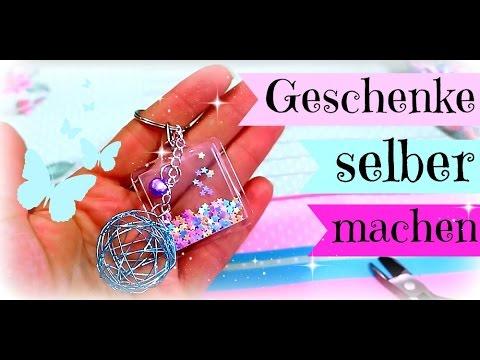 Kleine Geschenke selber machen | Diy Inspiration Bastelideen | Schlüsselanhänger selber machen