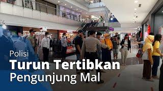 Meski Corona Belum Surut, Mal di Solo Baru Ramai Jelang Lebaran, Polisi Turun Tertibkan Pengunjung