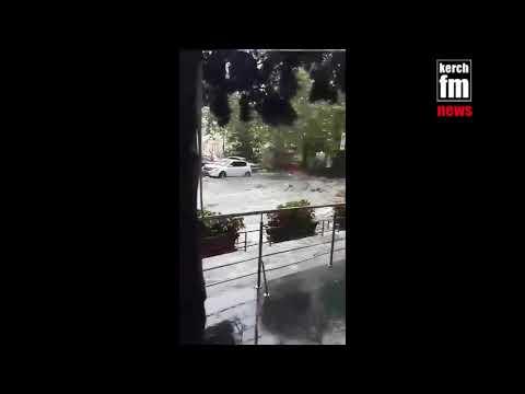 Оккупированную Ялту заливает дождь