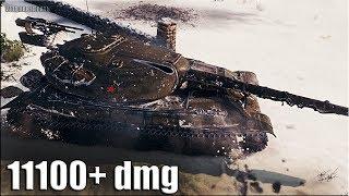 Объект 705А ВЗРЫВОТЕХНИК 🌟 11200 dmg 🌟 World of Tanks лучший бой Об 705А