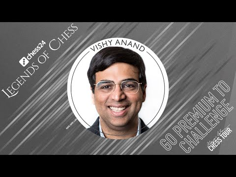 Banter Blitz with GM Vishy Anand   chess24 Legends of Chess