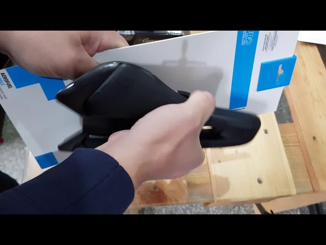 Видео Седло велосипедное Pro Aerofuel Carbon черное