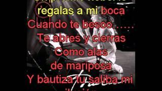 Thalia  Cuando Te Beso con letra