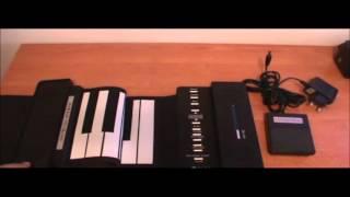 Schubert Roll up Piano