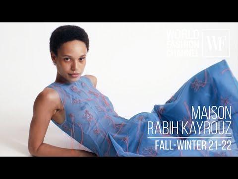 Maison Rabih Kayrouz Haute Couture   fall-winter 21-22