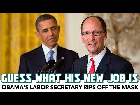 Tom Perez Rips Off The Mask