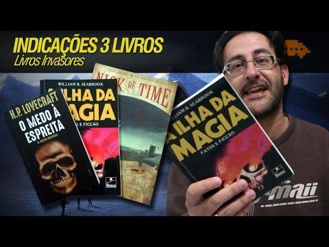 LIVROS INVASORES - Indicações 3 livros
