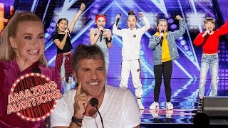 GIRL POWER! GREATEST Girl Bands To Appear On Got Talent and X Factor | Amazing Auditions