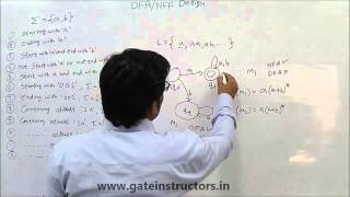 Deterministic Finite Automata ( DFA ) with (Type 1: Strings ending with) Examples | 017