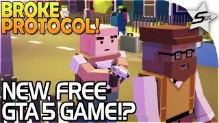 Broke Protocol - NEW, FREE Grand Theft Auto 5 Game! - Broke Protocol Gameplay Part 1