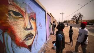 Graffiti Senegal - Festigraff 6 - Set ci Diaamu Yallah La Bokk