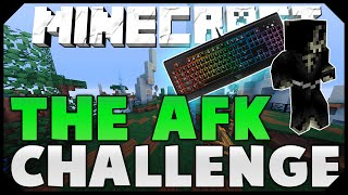 THE AFK CHALLENGE + TWO FLYING HACKERS! ( Hypixel Skywars )