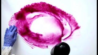 Спиртовые чернила - техника рисования, Alcohol Ink Painting