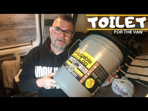 A TRUE Van Life Day Shopping For A TOILET   Luggable Loo