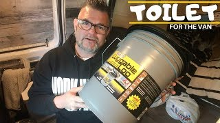A TRUE Van Life Day Shopping For A TOILET | Luggable Loo