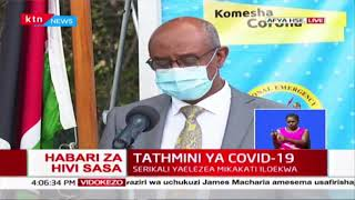 Breaking News: 123 more cases reported positive for COVID-19 in Kenya