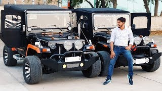 MODIFIED JEEP GOING ODISHA & RAJASTHAN ... CHECK DESCRIPTION BOX MUST....JAIN MOTORS JEEP@8199061161