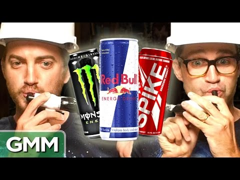 Ultimate Energy Drink Taste Test