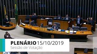 Plenário - Sessão para a votação de propostas - 15/10/2019 14:00
