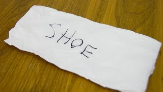 DO SHOCKING 'MIND READING' MAGIC TRICK WITH ANY PAPER NAPKIN!