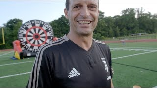 Juventus Foot Darts Challenge | #CONTAJUS