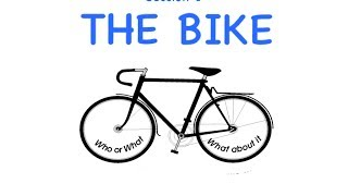The Bike - A new way of understanding sentence structure (Session 1)
