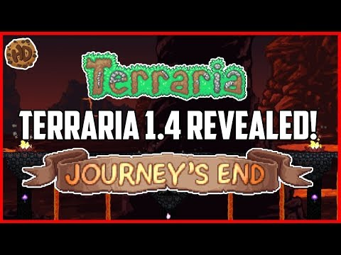 Terraria 1.4 JOURNEY'S END Revealed! | Terraria 1.4 Update Announced! | HappyDays