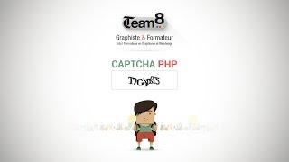 Tuto créer un captcha image en PHP pour vos formulaires de contact avec ce tutoriel gratuit