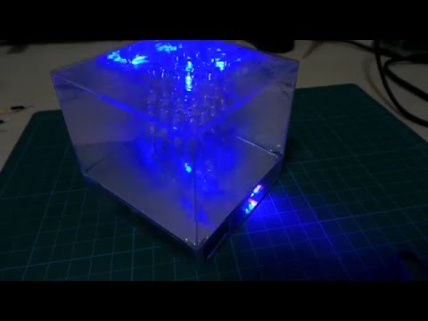 LEDCubes/Mini4 demo