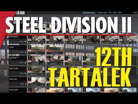 12TH TARTALEK! Steel Division 2 Battlegroup BETA Preview #15